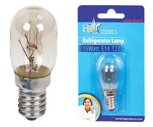 k hlschrank lampe gl hbirne 15 watt fassung e14 form. Black Bedroom Furniture Sets. Home Design Ideas