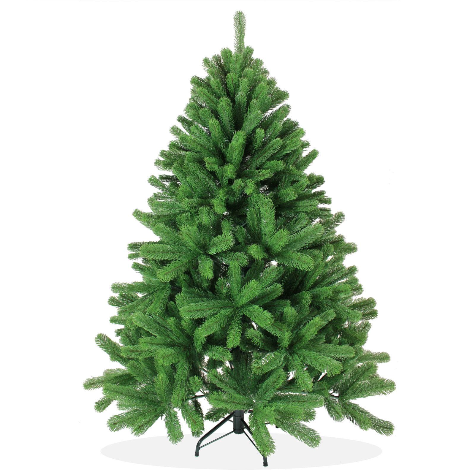 K nstlicher weihnachtsbaum 150cm douglastanne pe spritzguss tannenbaum gr n pt02 ebay - Tannenbaum spritzguss ...