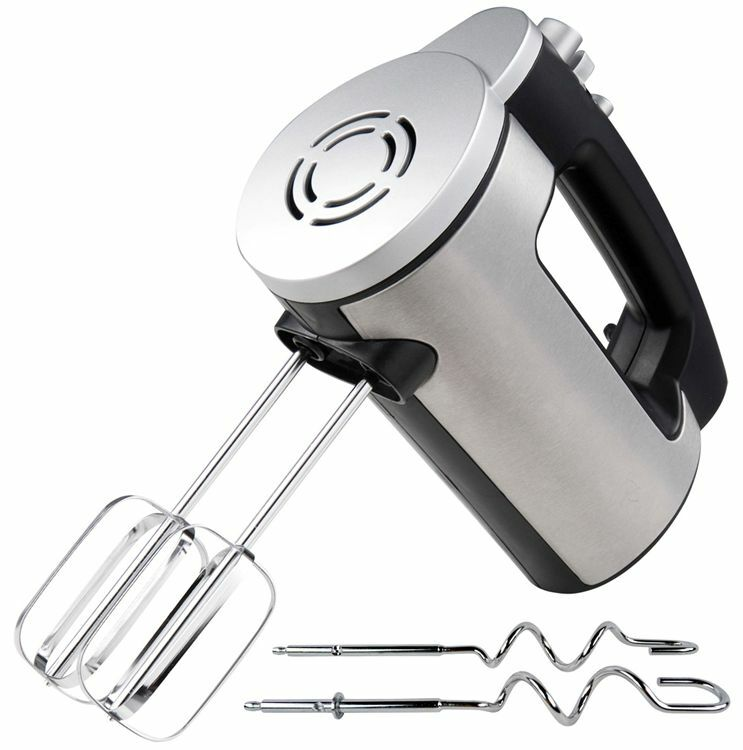 Electric Hand Mixer ~ Kung fu master electric hand mixer watt stainless