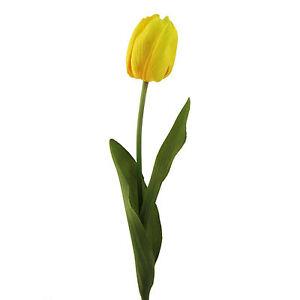 Kunstblumen-Tulpen-Eine-Tulpe-44cm-Farbe-GELB-30