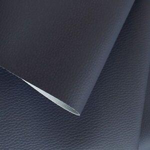 kunstleder weich anschmiegsam wie nappa leder polster stoff meterware dkl blau ebay. Black Bedroom Furniture Sets. Home Design Ideas