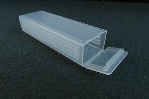 Kunststoff-Objekttraeger-Mailer-Fall-Packung-mit-10-Stueck