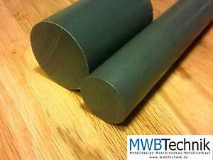 kunststoff pvc grau rundmaterial rundstange vollstab ronden scheiben d40 120mm ebay. Black Bedroom Furniture Sets. Home Design Ideas