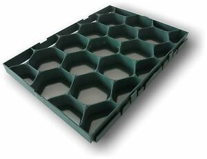 kunststoff rasengitter rasenwabe wegeplatten komposter ebay. Black Bedroom Furniture Sets. Home Design Ideas