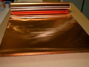 kupferblech kupferfolie 0 1 x 600 mm 2 mtr rolle metall. Black Bedroom Furniture Sets. Home Design Ideas