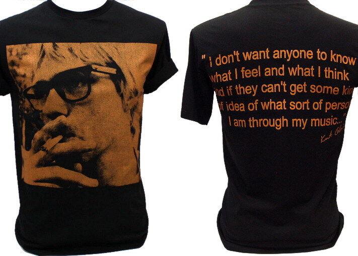Kurt Cobain Nirvana Vintage Retro Rock T Shirt L