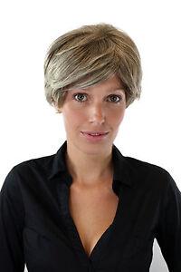 kurzhaar per cke damen blond mix gestr hnt meliert kess gescheitelt dw423 230t ebay. Black Bedroom Furniture Sets. Home Design Ideas