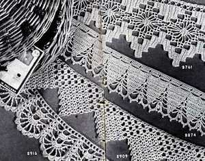 Handmade Laces: Filet, Crochet, Cutwork, Knitting, Tatting