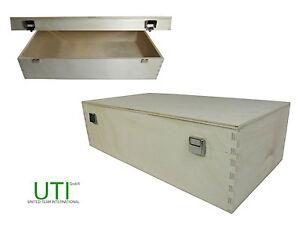 LAGERVERKAUF-Holzbox-Box-Holzkiste-natur-gezinkt-Restmenge-100-Stueck-2er-Set