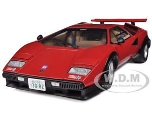 lamborghini countach lp500s red walter wolf edition 1 18 by kyosho 08323. Black Bedroom Furniture Sets. Home Design Ideas