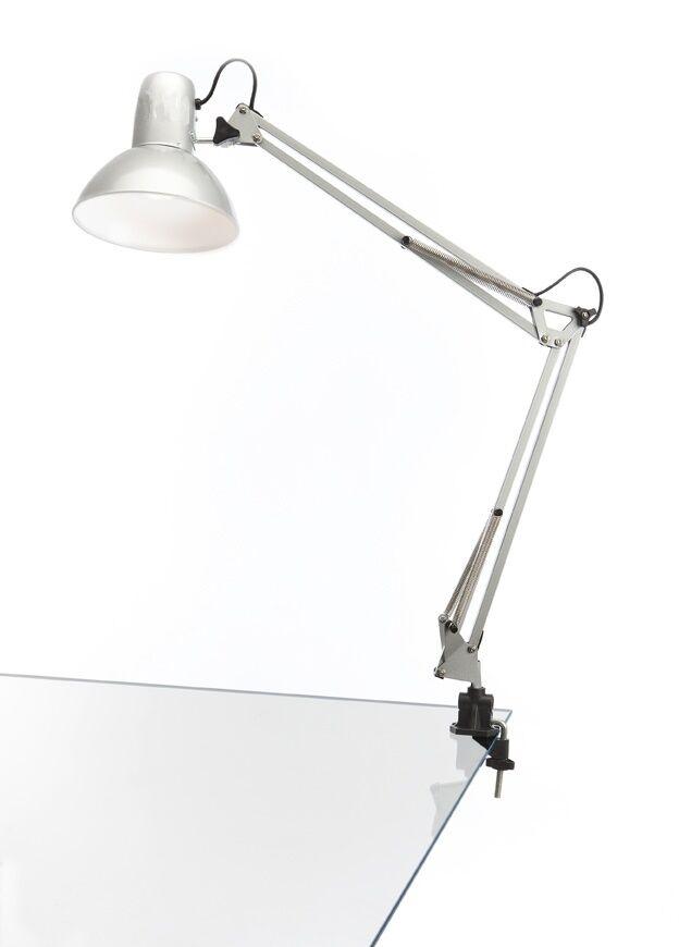 Lampada estetista snodabile orientabile e27 da scrivania for Tavolo scrivania