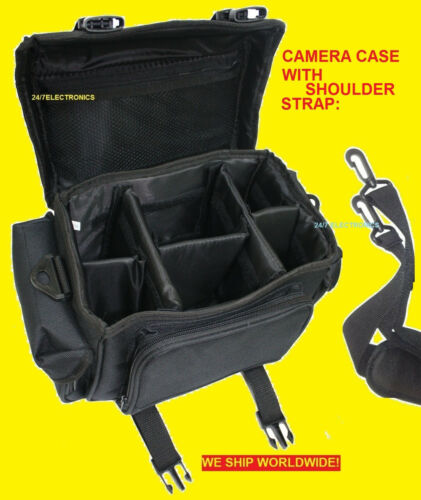 LARGE CAMERA BAG CASE for NIKON DSLR D3200 D 3200 DIGITAL SLR in Cameras & Photo, Camera & Photo Accessories, Cases, Bags & Covers | eBay