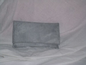 Grey clutch bag - : Mince His Words
