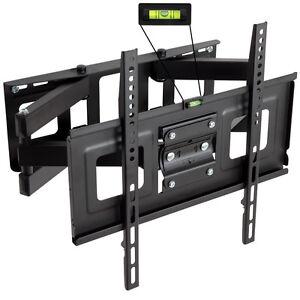 LCD-LED-Plasma-TV-Wandhalter-Wandhalterung-neigbar-schwenkbar-3D-32-55-Zoll