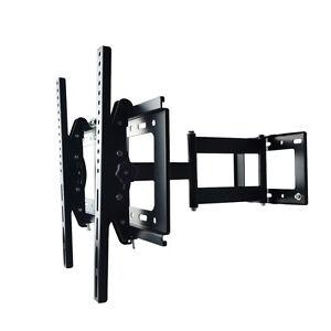 LCD-Plasma-TV-Fernseher-Wandhalterung-Wandhalter-neigbar-schwenkbar-bis-60-zoll