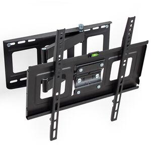 LCD-Plasma-TV-Wandhalter-Wandhalterung-Halterung-neigbar-schwenkbar-32-55-Zoll