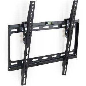 LCD-Plasma-TV-Wandhalter-Wandhalterung-neigbar-kippbar-LED-3D-55-Zoll-bis-90kg