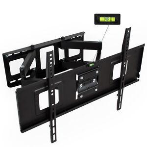 LCD-Plasma-TV-Wandhalter-Wandhalterung-neigbar-schwenkbar-LED-3D-32-65-Zoll