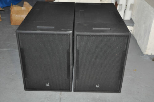 LD Premium Vue-Line Dual 18'' Subwoofer 1600/2600watts.look like eaw sb1000 in Musical Instruments & Gear, Pro Audio Equipment, Speakers & Monitors | eBay