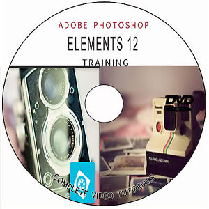 LEARN ADOBE PHOTOSHOP ELEMENTS 12: SOFTWARE VIDEO TUTORIALS TRAINING ...