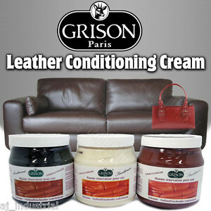 LEATHER FURNITURE POLISH CREAM / CLEANER - Sofa Couch Car ...