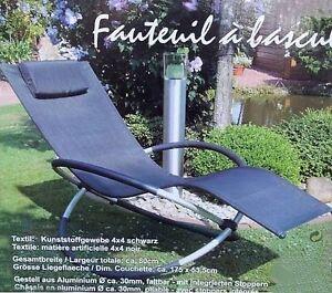leco schaukelstuhl schaukelstuhl gartenliege relaxliege schaukelliege relaxstuhl ebay. Black Bedroom Furniture Sets. Home Design Ideas