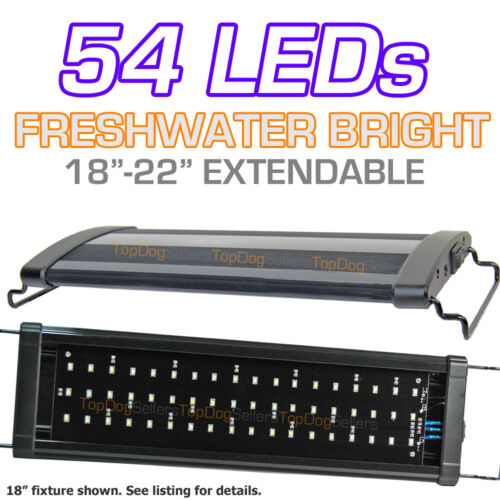 "LED 18"" 300 Aquarium Light Strip Freshwater Fish Tank Single Bright 45 cm 20"" in Pet Supplies, Aquarium & Fish, Lighting 
