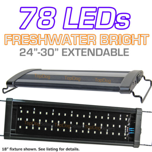 "LED 24"" 400 Aquarium Light Strip Freshwater Tropical Fish Single Bright 60 cm in Pet Supplies, Aquarium & Fish, Lighting 