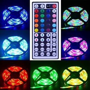 led band 5m strip lichtband farbig lichterkette 5050 smd. Black Bedroom Furniture Sets. Home Design Ideas