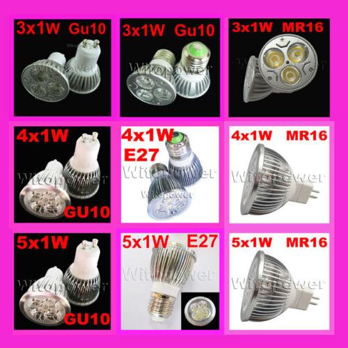 LED Bulb Dimmable 3W 4W 5W GU10 E27 MR16 LED Cool Warm Nature White Spotlight in Home & Garden, Lamps, Lighting & Ceiling Fans, Light Bulbs | eBay