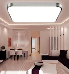 led decken lampe 12 22w flur wohnzimmer k chen bad leuchte. Black Bedroom Furniture Sets. Home Design Ideas