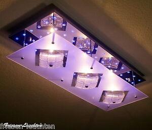 LED-Deckenleuchte-Farbwechsel-Fernbedienung-Wandleuchte-Deckenlampe-Leuchte