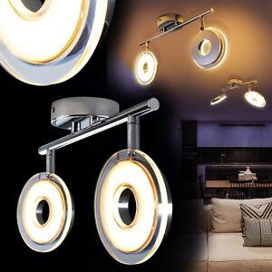led design deckenstrahler chrom deckenspot deckenleuchte. Black Bedroom Furniture Sets. Home Design Ideas
