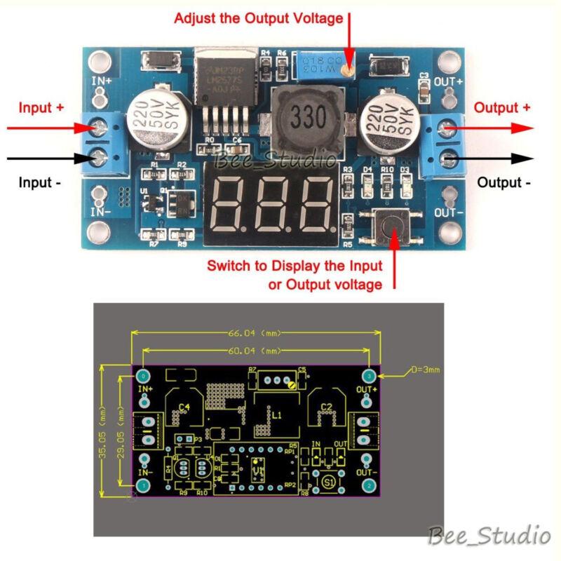 5vdc To 12vdc Lt1070 Boost Converter Circuit Diagram