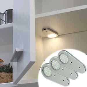 led lampe k che schrank wandleuchte m belleuchte ip20 nur 1 9w 85lm 230v 12v ebay. Black Bedroom Furniture Sets. Home Design Ideas