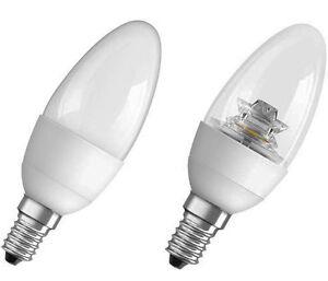 LED-Lampe-Osram-ADVANCE-E14-Kerzenlampe-warmweiss-Birne-Sparlampe-Kerze-230-Volt