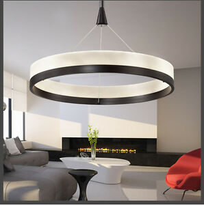 led pendelleuchte p8224 warmweiss 3000k ring 50cm 80cm. Black Bedroom Furniture Sets. Home Design Ideas