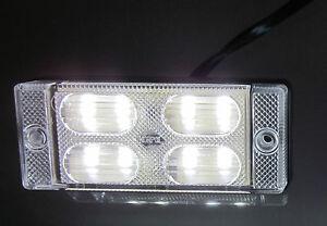 led r ckfahrleuchte pkw lkw anh nger leuchte lampe 12v 24v ebay. Black Bedroom Furniture Sets. Home Design Ideas