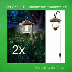 led solarleuchte solar gartenlaterne gartenleuchte laterne. Black Bedroom Furniture Sets. Home Design Ideas