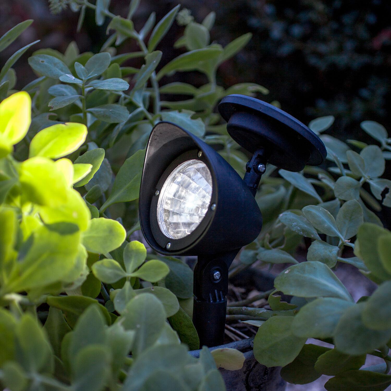 led solarstrahler spotlight solar leuchte solarlampe. Black Bedroom Furniture Sets. Home Design Ideas