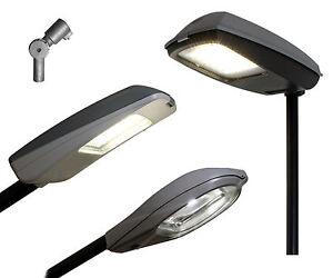 LED-Strassenleuchte-Laterne-230V-30W-40W-50W-70W-Strassenlampe-Strassenbeleuchtung