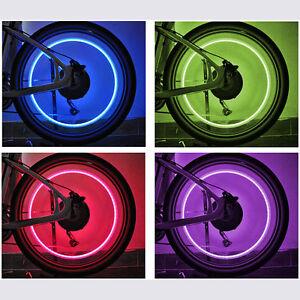 led ventilkappen 5 farben bunt speichenlicht f r fahrrad auto bike ventil licht ebay. Black Bedroom Furniture Sets. Home Design Ideas