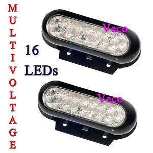details about led work flood driving lamp light truck 12v 24v van ute. Black Bedroom Furniture Sets. Home Design Ideas