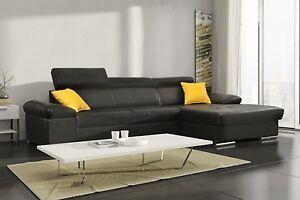 ledersofa fano u form eckcouch beste ecke wohnzimmer fano. Black Bedroom Furniture Sets. Home Design Ideas