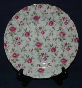 LEFTON CHINA DISH HERITAGE ROSES NUMBER 1860 HAND PAINTED HERITAGE