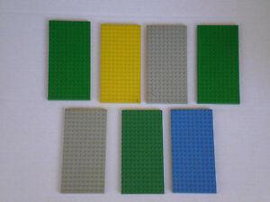 LEGO 7 2 PLATTEN mit TOR LEGO 60zig Jahre SIEHE FOTOS LEGO LEGO SIEHE FOTOS - Niedersachsen, Deutschland - LEGO 7 2 PLATTEN mit TOR LEGO 60zig Jahre SIEHE FOTOS LEGO LEGO SIEHE FOTOS - Niedersachsen, Deutschland