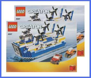 lego bauanleitung 4997 creator f hre boot schiff flugzeug. Black Bedroom Furniture Sets. Home Design Ideas