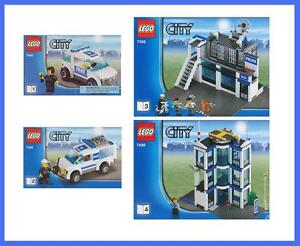 lego bauanleitung 7498 city police station polizeistation polizei revier 2712 ebay. Black Bedroom Furniture Sets. Home Design Ideas