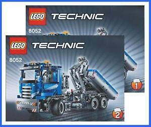 LEGO-BAUANLEITUNG-8052-Technic-Technik-Container-Truck-LKW-Lastwagen-2523