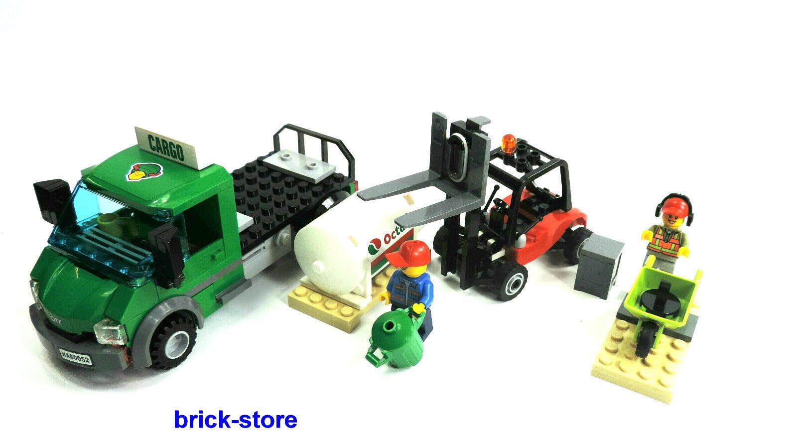 lego city eisenbahn 60052 carko lkw mit gabelstapler mit. Black Bedroom Furniture Sets. Home Design Ideas